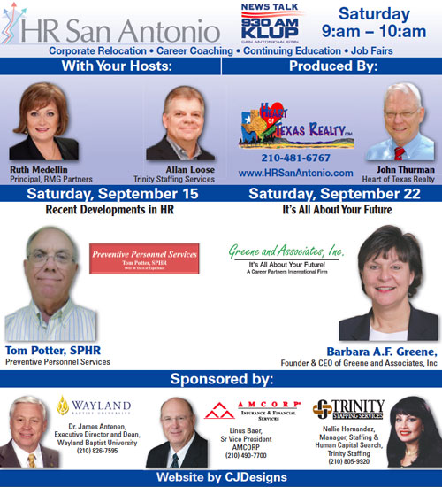HR San Antonio on KLUP AM 930 Radio