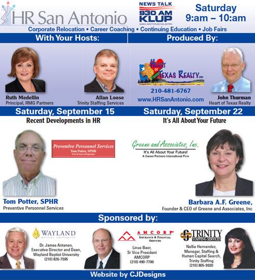 HR San Antonio on KLUP AM 930 Radio