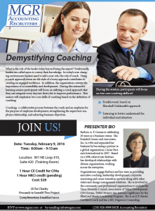 Demystifying Coaching