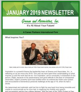 Greene and Associates Newsletter