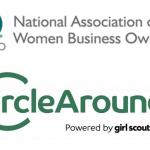 NAWBO and CircleAround logos