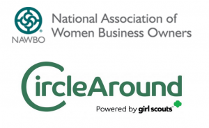NAWBO and CircleAround logos